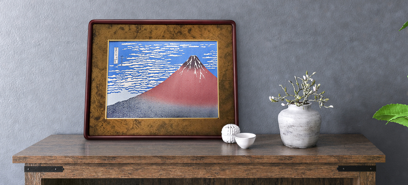 お部屋に葛飾北斎『富嶽三十六景』を飾りませんか?−ギャラリーページを開設しました